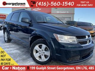 Used 2014 Dodge Journey SE Plus | ALLOYS | PWR SEAT | BLU TOOTH | PWR GRP for sale in Georgetown, ON
