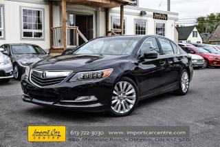 Used 2014 Acura RLX Tech Pkg NAVI, LEATHER, CLIMATE CONTROL for sale in Ottawa, ON