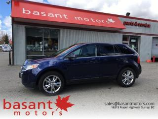 Used 2011 Ford Edge Limited, Nav, Leather, Heated Seats! for sale in Surrey, BC