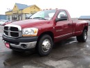 Used 2006 Dodge Ram 3500 ST RegCab Dually 5.9L 24Valve Cum Diesel 8ftBox for sale in Brantford, ON