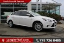 Used 2013 Ford Focus Titanium LOCALLY OWNED for sale in Surrey, BC
