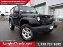 Used 2013 Jeep Wrangler SPORT for sale in Surrey, BC
