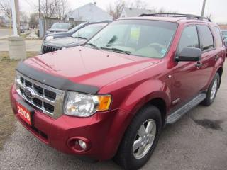 Used 2008 Ford Escape XLT for sale in Hamilton, ON