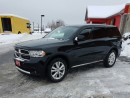 Used 2013 Dodge Durango SXT for sale in Cornwall, ON