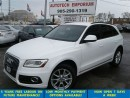Used 2013 Audi Q5 2.0T Prl White AWD/Lift Gate/Leather for sale in Mississauga, ON