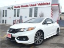 Used 2015 Honda Civic COUPE Si HFP - Navigation - Sunroof - Skirt Pkg for sale in Mississauga, ON