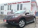 Used 2014 Honda CR-V EX-L - Leather - Sunroof - R.Cam for sale in Mississauga, ON