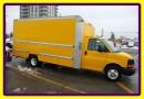 Used 2012 Chevrolet G3500 16 ft ALuminium.Corners Unicell box, Ramp for sale in Woodbridge, ON