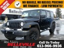 Used 2016 Jeep Wrangler Unlimited Willys Wheeler-Trailer tow Group-Bluetooth for sale in Belleville, ON