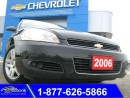 Used 2006 Chevrolet Impala LTZ - Leather, Moonroof & Remote Start for sale in Bolton, ON
