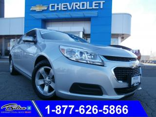 Used 2016 Chevrolet Malibu Limited LT - Bluetooth & Accident Free for sale in Bolton, ON