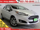 Used 2015 Ford Fiesta SE| TOUCH SCREEN| WE WANT YOUR TRADE| for sale in Burlington, ON