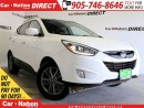 Used 2014 Hyundai Tucson GLS| LEATHER-TRIMMED SEATS| DUAL SUNROOF| for sale in Burlington, ON