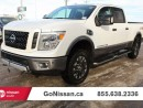 Used 2016 Nissan Titan XD Heated seats, navigation, Low KMS! for sale in Edmonton, AB