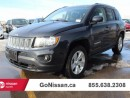 Used 2014 Jeep Compass Heated Leather Seats, 4x4, Accident Free! for sale in Edmonton, AB