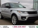 Used 2014 Land Rover Range Rover Sport V8 Supercharged - CPO 6yr/160000kms manufacturer warranty included until March 30, 2020! CPO rates starting at 1.9%! Local One Owner Trade In   No Accidents   3M Protection Applied   Navigation   Back Up Camera   Parking Sensors   Adaptive Xenon Hea for sale in Edmonton, AB