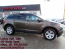 Used 2011 Ford Edge SEL NAVIGATION PANORAMIC SUNROOF CERTIFIED 2YR WAR for sale in Milton, ON