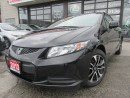Used 2013 Honda Civic EX -COUPE- SUNROOF-CAMERA -HEATED SEAT for sale in Scarborough, ON