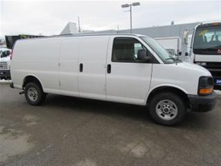 Used 2016 GMC Savana 3500 3500 1 ton Extended gas cargo van for sale in Richmond Hill, ON