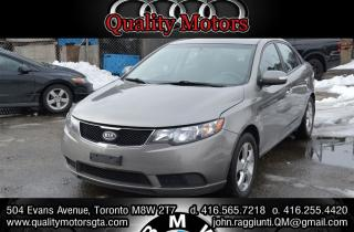 Used 2010 Kia Forte 2.0L EX w/Sunroof for sale in Etobicoke, ON