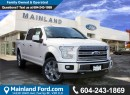 New 2017 Ford F-150 Limited  for sale in Surrey, BC