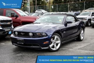 Used 2012 Ford Mustang GT Heated Seats and Satellite Radio for sale in Port Coquitlam, BC