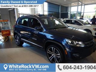 New 2017 Volkswagen Tiguan Highline APP- CONNECT, LEATHER INTERIOR & RAIN SENSING WIPERS for sale in Surrey, BC