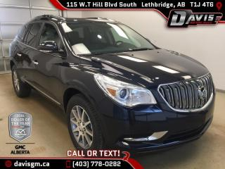 New 2017 Buick Enclave Heated front leather, Remote Start, Dual Panel Moonroof for sale in Lethbridge, AB