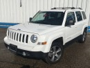 Used 2016 Jeep Patriot High Altitude 4x4 *LEATHER-SUNROOF* for sale in Kitchener, ON
