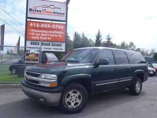 Used 2004 Chevrolet Suburban LS 4X4 7 PASSENEGR for sale in Gloucester, ON