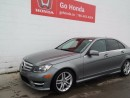 Used 2013 Mercedes-Benz C-Class C300, AWD, LEATHER, SUNROOF, ALLOYS for sale in Edmonton, AB