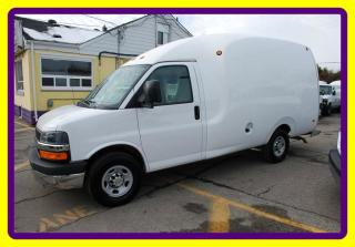 Used 2013 Chevrolet Express 3500 Bubble Van arrow cell body 1 ton, accesories for sale in Woodbridge, ON