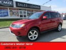 Used 2009 Mitsubishi Outlander XLS   4X4, LEATHER, SUNROOF, HEATED SEATS, ALLOYS! for sale in St Catharines, ON