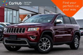 Used 2016 Jeep Grand Cherokee Limited|Bluetooth|Backup.Cam|GPS|Auto.Start|Heat.Seats| for sale in Thornhill, ON