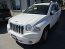 Used 2008 Jeep Compass 'GREAT VALUE' NORTH EDITION 5 PASSENGER 2.4L - DOHC ENGINE.. AM/FM/CD PLAYER.. AUX INPUT.. ROOF RACK.. for sale in Bradford, ON