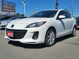 Used 2013 Mazda MAZDA3 GS-SKY/LEATHER/SUNROOF for sale in Brampton, ON