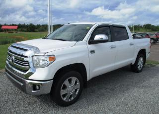 Used 2016 Toyota Tundra Platinum 1794 Edition for sale in Renfrew, ON