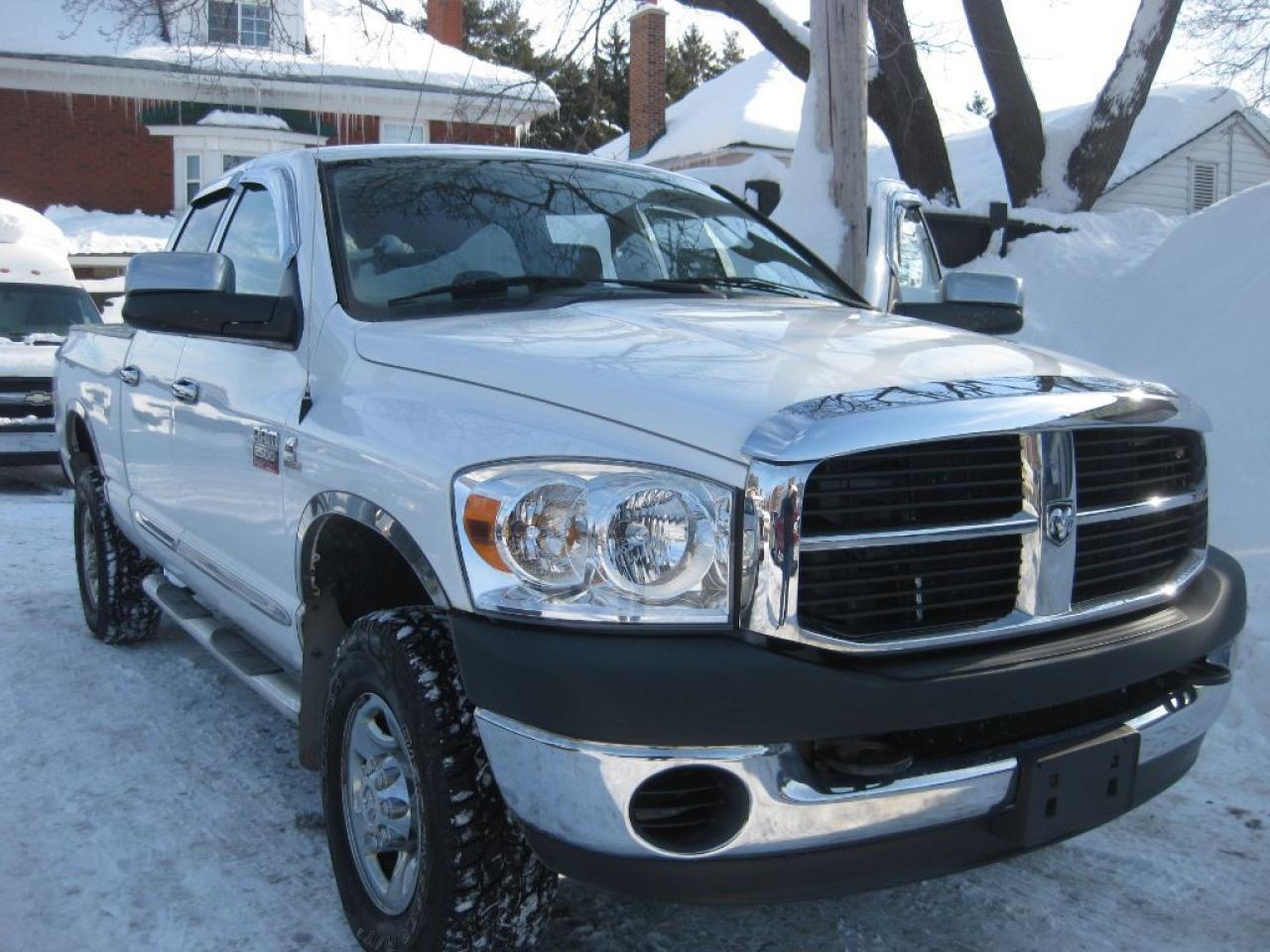 2008 Dodge Ram 2500 SLT,p/w p/l,4x4 6 cyl diesel,4 door,keyless entry,