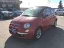 Used 2013 Fiat 500 Lounge  CALL NAPANEE $90.80 74K for sale in Picton, ON