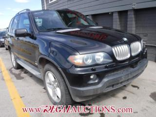 Used 2005 BMW X5  4D UTILITY 4.4I AWD for sale in Calgary, AB