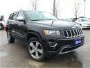 Used 2015 Jeep Grand Cherokee Limited**Navigation**Bluetooth** for sale in Mississauga, ON