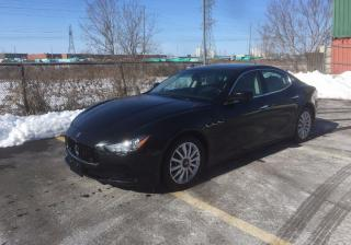 Used 2014 Maserati Ghibli S Q4 AWD for sale in Woodbridge, ON