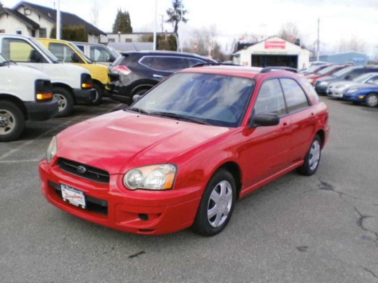 2004 Subaru Impreza TS