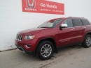 Used 2014 Jeep Grand Cherokee LIMITED, 4X4, NAVI, LEATHER for sale in Edmonton, AB