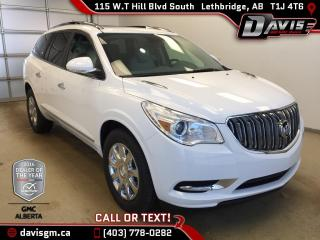 New 2017 Buick Enclave Premium-7 Passenger, Heated/Cooled Leather, Colour Touch Navigation for sale in Lethbridge, AB