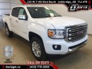 New 2017 GMC Canyon 4WD SLT-Navigation, Heated Leather, Onstar 4G LTE Wifi for sale in Lethbridge, AB
