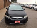 Used 2007 Honda Civic DX-G for sale in Mississauga, ON