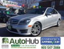 Used 2013 Mercedes-Benz C-Class C350 4MATIC NAVIGATION BACKUP SENOR TRAFIC ALERT for sale in Hamilton, ON