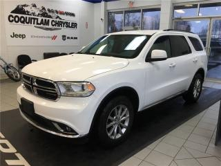 Used 2016 Dodge Durango SXT for sale in Coquitlam, BC