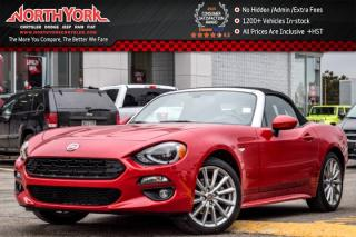Used 2017 Fiat 124 Spider Lusso Manual|Nav|Leather|BOSE|HTD Seats|Backup Cam|17
